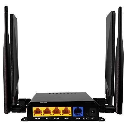 TAKTIKAL 4G LTE Router Sim Card Wi-Fi - Wireless Broadband | Yellow